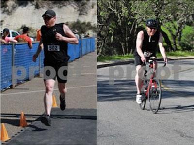 Scott Brennan triathlons