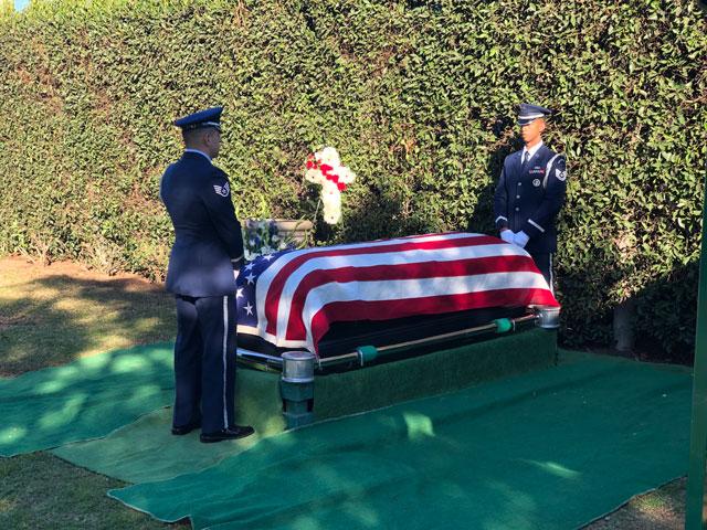 Jim Chapel funeral